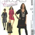 McCall's Sewing Pattern 5928 Misses 14-20 Create it! Pullover Loose Fitting Embellished Dress