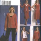 Vogue Sewing Pattern 8567 Misses Size 16-22 Easy Wardrobe jacket Top Dress Skirt Pants