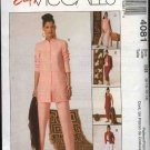 McCall's Sewing Pattern 4081 Misses Size 8-14 Easy Wardrobe Shirt-jacket Tank Top Skirt Pants