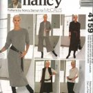 McCall's Sewing Pattern 4159 Misses Size 8-22 Wardrobe Knit Jacket Vest Top Dress Culottes