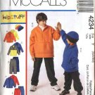McCall's Sewing Pattern 4234 Boys Size 3-6 Zipper Front Jacket Pullover Top Pull On Pants Hat