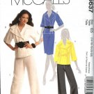 McCall's Sewing Pattern 5637 Misses Size 14-22 Wardrobe Lined Jacket Skirt Pants Suit Pantsuit