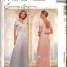 McCall's Sewing Pattern 8836 Misses Size 10-14 Wedding Gown Formal Dress Detachable Train