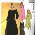 McCall's Sewing Pattern 4250 Misses Size 8-14 Long Raised Empire Waist Dresses