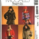 McCall's Sewing Pattern 4669 Misses Size 4-14 Reversible Button Front Jackets Hats