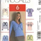 McCall's Sewing Pattern 4781 M4781 Misses Size 4-14 Easy Camisole Top Short Long Sleeve Shrug Bolero