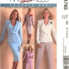McCall's Sewing Pattern 4785 Misses Size 16-22 Wardrobe Lined Jackets Top Skirt Pants Suit
