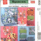 McCall's Sewing Pattern 4800 Trading Spaces Office Accessories Monitor Keyboard Cover Memo Board