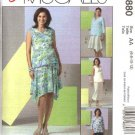 McCall's Sewing Pattern 4880 Misses Size 6-12 Easy Maternity Wardrobe Tops Skirt Long Cropped Pants