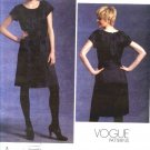 Vogue Sewing Pattern 1120 Misses Size 14-22 DKNY Easy Loose-fitting Baby Doll A-Line Dress Tie Ends