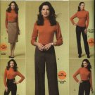 Butterick Sewing Pattern 5391 Misses Size 8-14 Easy Classic Straight Skirt Pants Trousers Slacks