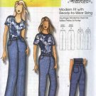 Butterick Sewing Pattern 5403 B5403 Misses Size 3-16 Connie Crawford Classic Blue Denim Jeans Pants