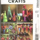 McCall's Sewing Pattern 4992 Christmas Gifts Ornaments Gift Cones Bags Decorations