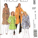 McCall's Sewing Pattern 5060 Misses Size 14-20 Lined Single Double Breasted Coats Jackets