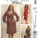 McCall's Sewing Pattern 5484 M5484 Womans Plus Size 20W-28W Sew News Pullover Knit Dresses