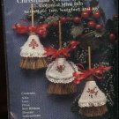 Colonial Mini Broom Christmas Ornaments Counted Cross Stitch Kit