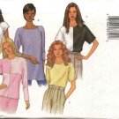 Butterick Sewing Pattern 3030 Misses Size 6-14 Easy Pullover Short Long Sleeve Tops