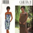 Butterick Sewing Pattern 3372 Misses Size 18-22 Easy Chetta B Formal Strapless Long Short Dresses