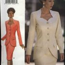 Butterick Sewing Pattern 3430 Misses Size 18-22 Easy Suit Button Front Jacket Top Straight Skirt