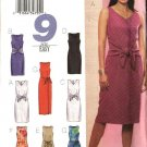 Butterick Sewing Pattern 3440 Misses Size 6-8-10 Summer Sleeveless Straight Short Long Dresses