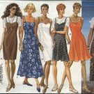 Butterick Sewing Pattern 3494 Misses Size 6-12 Easy Dress Knit Top Jumper Straight Flared Sundress