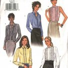 Butterick Sewing Pattern 3606 Misses Size 18-20-22 Button Ruffle Front Blouses Shirts Top