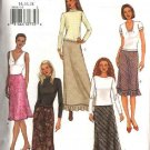 Butterick Sewing Pattern 3654 B3654 Misses Size 8-12 Easy A-Line Bias Lined Short Long Skirt
