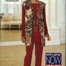 Butterick Sewing Pattern 3740 Misses Size 18-22 Easy Pullover Tunic Top Vest Pants