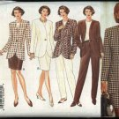 Butterick Sewing Pattern 3767 Misses Size 18-22 Easy Wardrobe Jacket Top Straight Skirt Pants Suit