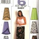 Butterick Sewing Pattern 3783 Womans Plus Size 16W-20W Easy A-Line Skirts Hemline Variations
