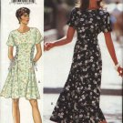 Butterick Sewing Pattern 3841 Misses 18-20-22 Easy Short Long Flared Dress