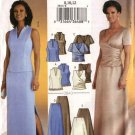 Butterick Sewing Pattern 3843 Misses Size 8-12 Easy Evening Formal 2-Piece Dress Gown Skirt Top