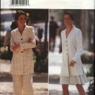 Butterick Sewing Pattern 3851 Misses Size 18-20-22 Easy Long Sleeve Tunic jacket Flared Skirt Pants