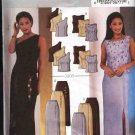 Butterick Sewing Pattern 3908 Misses Size 18-20-22 Easy Formal Evening Prom 2-Piece Dress Top Skirt