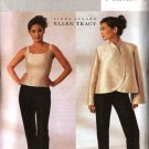 Butterick Sewing Pattern 3916 Misses Size 18-20-22 Unlined Long Sleeve Jacket Sleeveless Top Pants