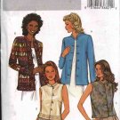 Butterick Sewing Pattern 3927 Misses Size 18-20-22 Easy Lined Button Front Jacket Vest