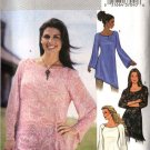 Butterick Sewing Pattern 3970 Misses Size 6-14 Easy Loose Pullover Long Sleeve Tunic Top