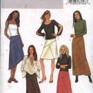 Butterick Sewing Pattern 3972 Misses Size 18-20-22 Easy  A-Line Seamed Short Long Skirts