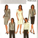 Butterick Sewing Pattern 3978 Misses Size 6-8-10 Easy Wardrobe Jacket Dress Skirt Pants