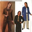 Butterick Sewing Pattern 3980 B3980 Womans Plus Size 22W-26W Easy Button Front Jacket Skirt Pants