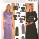 Butterick Sewing Pattern 4021 Misses Size 8-10-12 Easy Evening Prom Formal 2-Piece Dress  Skirt Top