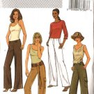 Butterick Sewing Pattern 4077 Misses Size 6-8-10 Easy Straight Long Pants Trousers