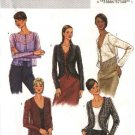 Butterick Sewing Pattern 4078 Misses Size 6-8-10 Easy Jacket Shrug Variations