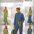 Butterick Sewing Pattern 4080 Misses Size 8-12 Easy Wardrobe Reversible Jacket Top Dress Skirt Pants