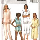 Butterick Sewing Pattern 4084 Misses Size 6-14 Easy Top Nightshirt Panties Pants Pajamas