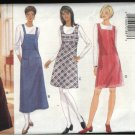 Butterick Sewing Pattern 4087 Misses Size 14-16-18 Easy Jumper Variations Long Sleeve Knit Top