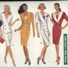 Butterick Sewing Pattern 4088 Misses Size 12-14-16 Easy Double Breasted Straight Dress Skirt Top