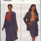 Butterick Sewing Pattern 4090 Misses Size 8-12 Easy Wardrobe Jacket Top Straight Flared Skirt