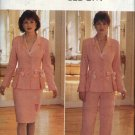 Butterick Sewing Pattern 4094 Misses  6-8-10 Lined Long Sleeve Jacket Straight Skirt Pants