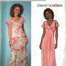 Butterick Sewing Pattern 4127 B4127 Misses Size 8-12 Easy Lined Pullover Mock Wrap Top Dress Skirt